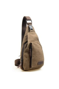 Harga Men's Military Shoulder Bag Coffee