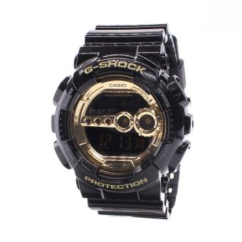Harga Casio Watch G-SHOCK Black Resin Case Resin Strap Mens NWT + Warranty GD-100GB-1D