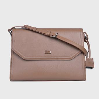 Harga Tocco Toscano Charmeine Flap Messenger (Brown)