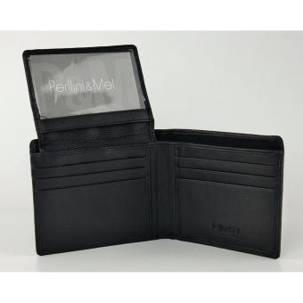 Harga 017VN-Black (Leather Wallet)
