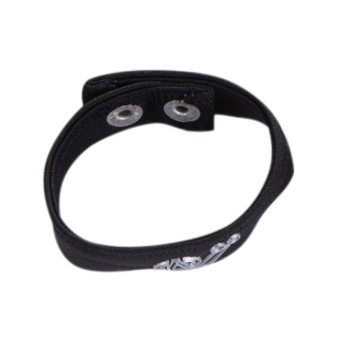 Sexy Men's Male Underwear Thong Mention Ring Bracelet Black