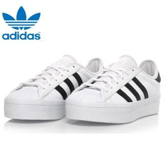 Harga Adidas Superstar Rize W S75070 Original Casual White/Black - intl