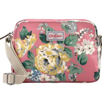 Harga Cath Kidston Mini Busy Bag Cross body bag sling bag (Norfolk Rose Vintage Pink )