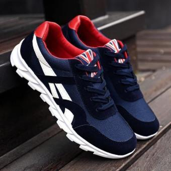 Harga Spring Summer Breathable Running Shoes Men Sports Shoes - intl