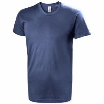 Harga Round Neck T-Shirt (Denim) - Imported from France