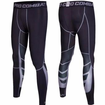 Harga Elite Pro Combat Compression Tights Long Pants (Black)