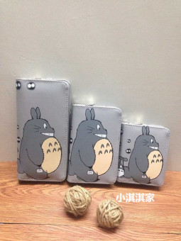 Harga 2015 new cartoon totoro cute little purse student wallet a short paragraph korean version of the cartoon anime wallet (Long paragraph-clatter)