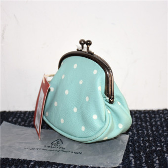 Harga [Four] ms. card package coin purse bag small bag bag korean foreign trade bow cosmetic bag wallet (10 yuan 2 random)