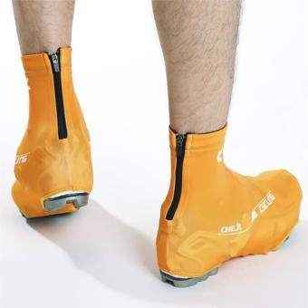 High Quality Cheji Sports Bicycle Shoes Anti-Slip Zippered Protective CyCling Shoes Covers (Orange) - intl - 3
