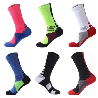 Harga Elite High-Cut Sports Socks (Black)