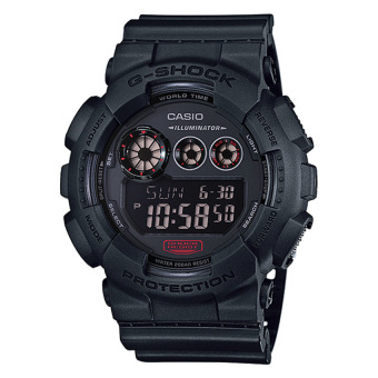 Harga Casio G-Shock Military Black Big Case Series Watch GD120MB-1 GD-120MB-1D
