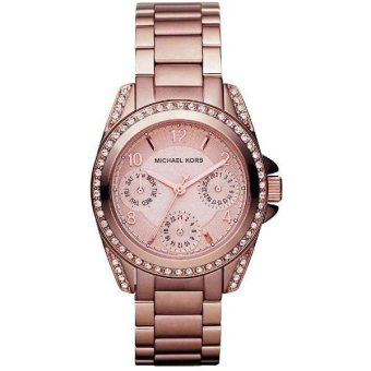 Michael Kors Blair Multi-Function Women's Rose Gold Stainless Steel Strap Watch MK5613
