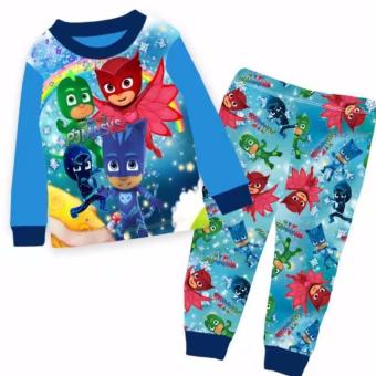 Harga Kids pyjamas P J Mask sleepwear