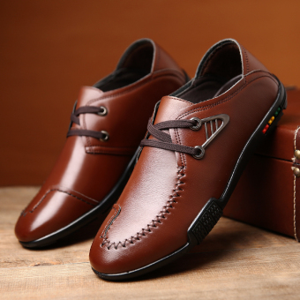 Men 's fashion british business casual leather shoes - intl - 2