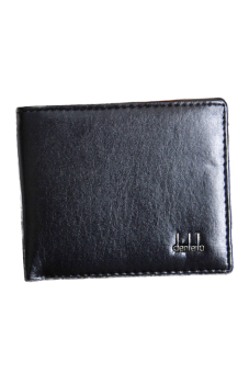 Harga Fancyqube Leather Business Men's Wallet (Black) (EXPORT)