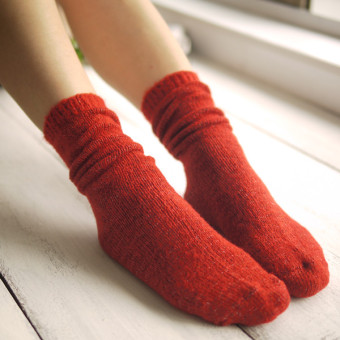 Harga Sen Department color in tube wool socks pile of socks
