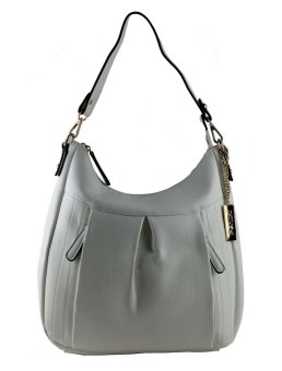 Harga Perllini and Mel Leatherette Single Strap Hobo Bag (White)