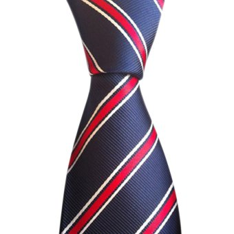 en's Jacquard Woven Necktie Classic Silk Ties Fashion Business Tie Wedding