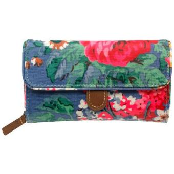 Harga Cath Kidston WALLET BLOOMSBURY BOUQUET FOLDED TRIMMED WALLET