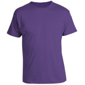 Harga REMME 100% Supima Cotton Round Neck T-Shirt (Royal Purple)