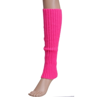 New Fashion Women's Knitted Leg Warmer Boot Leg Warmer - intl