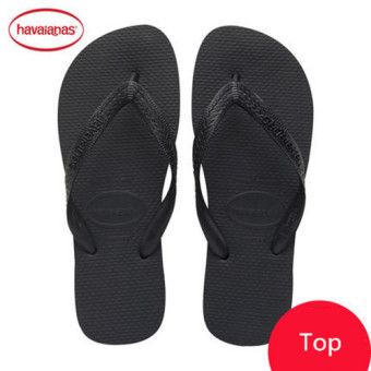Harga High Fashion Havaianas Top Filp Flop For Unisex Christmas Gift Birthday Present Black - intl