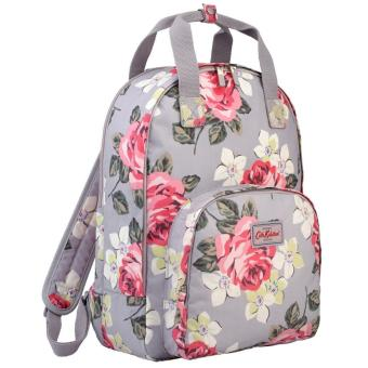 Harga Cath Kidston RICHMOND ROSE Backpack Multi Pocket Dove Grey backpack
