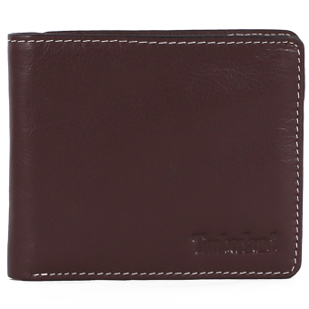 Harga Timberland Men Leather Wallet-Brown - intl