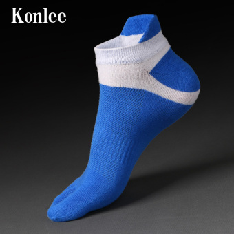 Harga 2 piece Men's cotton socks with anti-out five fingers k-d0118
