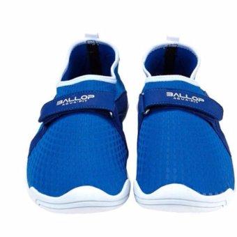BALLOP Aqua Fit Skin Shoes Active Series Typhoon Blue Woman Size US 6-8 UK 3.5-5.5 KOR/JP 230-250 cm - 3