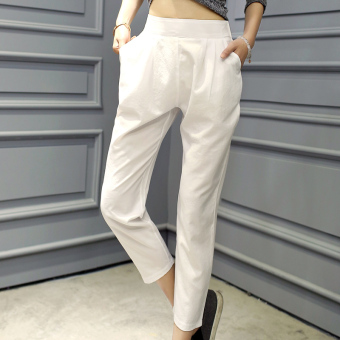 Harga Candy color casual spring and summer New style HarLan pants
