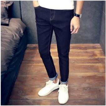 Piatter Men's jeans Haren pants feet Black - intl - 3