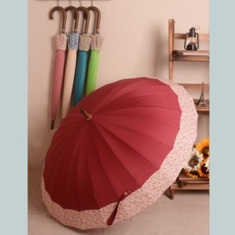 Harga New Style Bone cherry shade umbrella