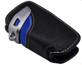Harga Remote key bag, genuine Leather Key Case for BMW 1 3 5 series F30 F35 X3 7 in Blue