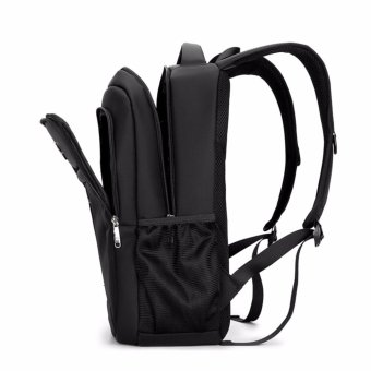 Boshikang Brand men laptop backpack computer back bag High Quality backpacks Travel Male oxford waterproof 14/15.6 inch bags(black) - intl - 5