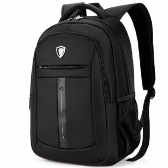Boshikang Brand men laptop backpack computer back bag High Quality backpacks Travel Male oxford waterproof 14/15.6 inch bags(black) - intl