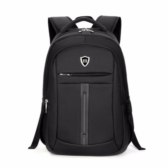 Boshikang Brand men laptop backpack computer back bag High Quality backpacks Travel Male oxford waterproof 14/15.6 inch bags(black) - intl - 2