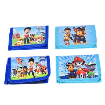 Harga Kids Children Boy Girl Paw Patrol Doll Figures Purse Wallet Pouch Toy Gift - intl