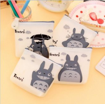 Harga 4pcs/lot Diffrent Types Cute Women Silicone Cartoon Totoro Coin Purse Wallet Pouch Case Bag Kids Bags Pouch Case Holder Bag - intl