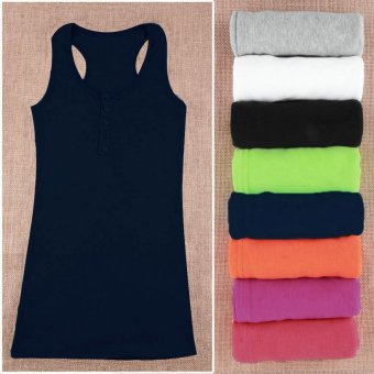 Harga OH Hot Ladies Women Girl Mini Sleeveless T-Shirt Tank Tops Cami Bodycon Vest