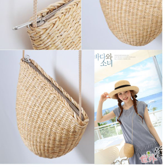 Harga Garden Japanese New style purse straw bag