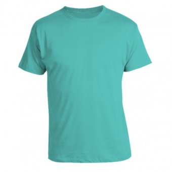 Harga REMME 100% Supima Cotton Round Neck T-Shirt (Turquoise)