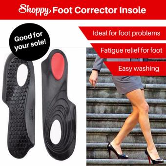 Harga Shoppy Foot Corrector Insole (L)