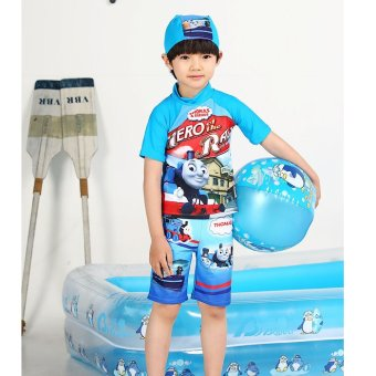 Harga Thomas boys boy split baby swimming trunks children's swimsuit