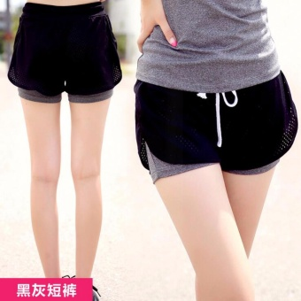 Harga Ladies's sportswear running Shorts Yoga clothes fast dry Sports Shorts suitable for fitness、Zumba、yoga and jogging. - intl