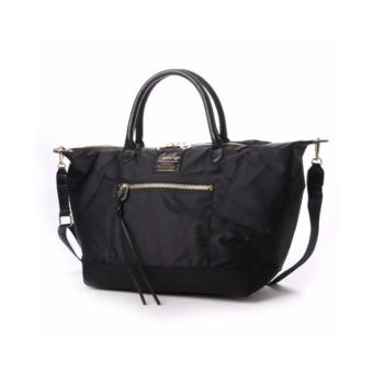 Harga Anello x Legato Largo 2-Way Tote Bag with sling strap crossbody & shoulder bag (Large size, Black)