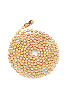 DIY Iron Chain Necklace Ball Chain Light gold