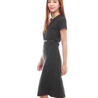 Black Midi Dress - 2