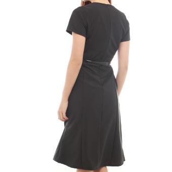 Black Midi Dress - 3