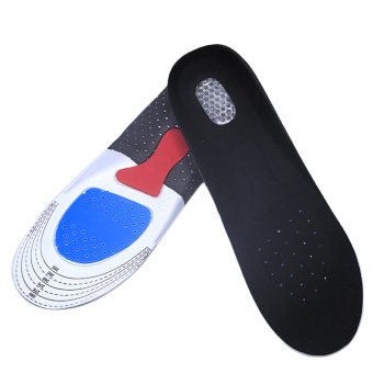 Harga Men Women Gel Orthotic Sport Running Insoles Insert Shoe Pad Arch Support Cushion Men